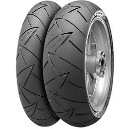 Continental Sport Attack 2 Hypersport Tire Combo - Continental Road Attack 2 Rear Tire 190/55ZR17
