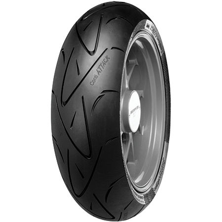 Continental Sport Attack Hypersport Radial Rear Tire - 190/50ZR17 - Main