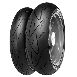Continental Sport Attack - Hypersport Radial Tire Combo - Continental Road Attack 2 Front Tire 120/70ZR17