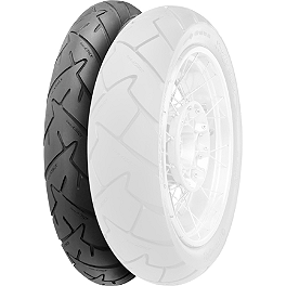 Continental Trail Attack Dual Sport Radial Front Tire - 120/70ZR17 - Lightning Performance Highway Peg Kit & Floorboards Combo