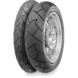 Continental Trail Attack Dual Sport Tire Combo - Continental Race Attack Custom Radial Front Tire - 90/90-21