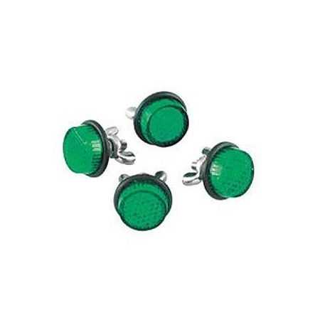 Chris Product Mini Reflectors - Green - Main