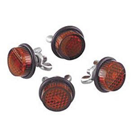 Chris Product Mini Reflectors - Red - Chris Product Mini Reflectors - Red