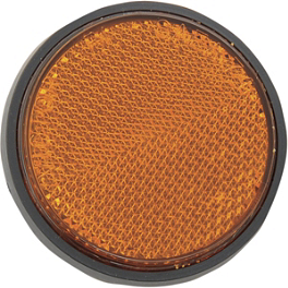 "Chris Products Reflectors - 2-1/2"" - Chris Product Mini Reflectors - Amber"