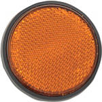 "Chris Products Reflectors - 2-1/2"" -  Motorcycle License Plate Accessories"