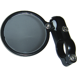 CRG Blindsight Bar End Mirror - 2004 Suzuki GSX1300R - Hayabusa CRG Roll-A-Click Folding Clutch Lever