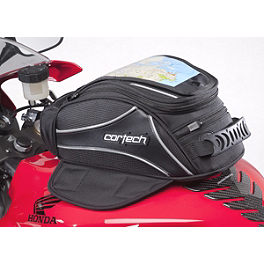 Cortech Super 2.0 8-Liter Tank Bag - Cortech Super 2.0 12-Liter Tank Bag