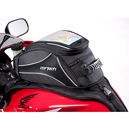 Cortech Super 2.0 12-Liter Tank Bag - Nelson-Rigg CL-1025 Sport Touring Tank / Tail Bag With Mount Combo