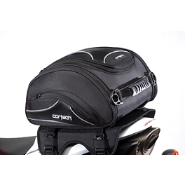 Cortech Super 2.0 24-Liter Tailbag - Saddlemen Expandable Sport Top Pack