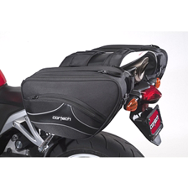 Cortech Super 2.0 36-Liter Saddlebags - Saddlemen Expandable Sport Saddlebags