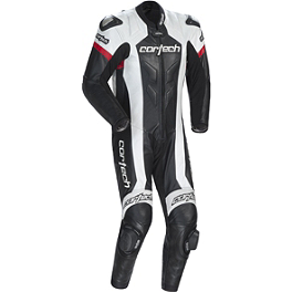 Cortech Adrenaline RR Leather One-Piece Suit - AGVSport Imola Leather One-Piece Suit