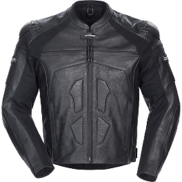 Cortech Adrenaline Leather Jacket - AGVSport Photon Perforated Leather Jacket