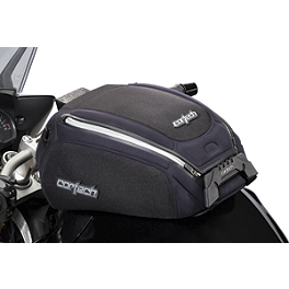 Cortech Medium Dryver Tank Bag And Mount Combo - 2010 Kawasaki ZG1400 - Concours ABS Cortech Small Dryver Tank Bag And Mount Combo
