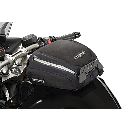 Cortech Small Dryver Tank Bag And Mount Combo - 2002 Honda CB919F - 919 National Cycle F-18 Sport Fairing - Dark Smoke