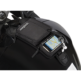 Cortech Micro Tank Bag - 2006 Kawasaki ZX600 - ZZ-R 600 Cortech Small Dryver Tank Bag And Mount Combo