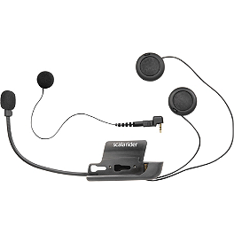 Scala Rider G4 / G9 Microphone Kit - Interphone Headset With Full Face and Boom Microphones