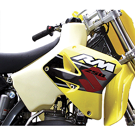 Clarke Gas Tank - 1992 Suzuki DR250 FMF Powercore 4 Slip-On Exhaust - 4-Stroke