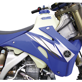 Clarke Gas Tank - 2013 Yamaha YZ125 IMS Gas Tank - 3.2 Gallons Natural