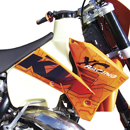 Clarke Gas Tank - 2010 KTM 450EXC IMS Gas Tank - 3.2 Gallons Natural