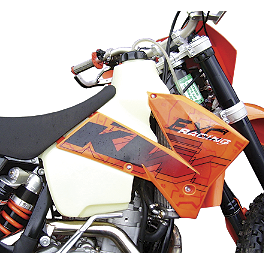 Clarke Gas Tank - Acerbis Gas Tank 2.7 Gallons - Natural