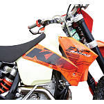 Clarke Gas Tank - Kawasaki KX250 Dirt Bike Fuel System