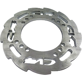 CV4 Billet Aluminum Gator Guard Sprocket Guard - Blingstar Dual Sprocket Guards