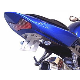 Competition Werkes Fender Eliminator Kit - Standard - AKO Racing LED Integrated Tail Light