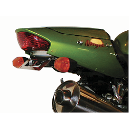 Competition Werkes Fender Eliminator Kit - Standard - 2003 Kawasaki ZX1200 - Ninja ZX-12R AKO Racing LED Integrated Tail Light