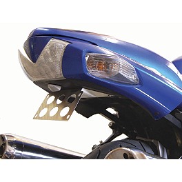 Competition Werkes Fender Eliminator Kit - Standard - 2007 Kawasaki ZX1400 - Ninja ZX-14 AKO Racing LED Integrated Tail Light