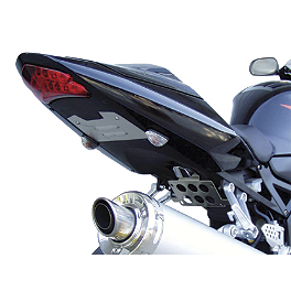 Competition Werkes Fender Eliminator Kit - Standard - 2004 Suzuki GSX-R 750 Competition Werkes Rider Footpegs