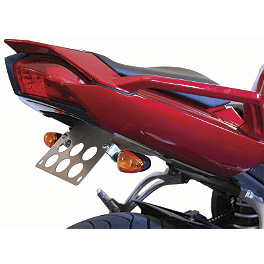 Competition Werkes Fender Eliminator Kit - Standard - 1999 Yamaha YZF600R Puig Racing Windscreen - Smoke