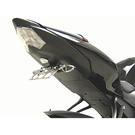 Competition Werkes Fender Eliminator Kit - Standard - 2008 Kawasaki ZX1000 - Ninja ZX-10R AKO Racing LED Integrated Tail Light