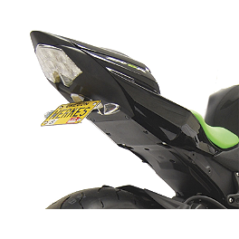Competition Werkes Fender Eliminator Kit - Standard - 2009 Kawasaki ZX600 - Ninja ZX-6R AKO Racing LED Integrated Tail Light