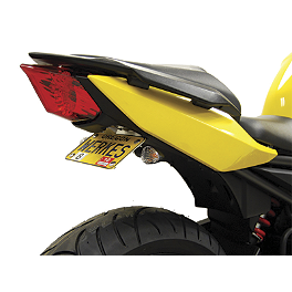 Competition Werkes Fender Eliminator Kit - Standard - 2011 Yamaha FZ6R AKO Racing LED Integrated Tail Light