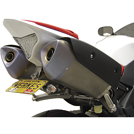 Competition Werkes Fender Eliminator Kit - Standard - 2011 Yamaha YZF - R1 AKO Racing LED Integrated Tail Light
