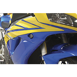 Competition Werkes Light Werkes LED Marker Light - Smoke - 2007 Honda CBR600RR Competition Werkes Fender Eliminator Kit - Pivot License Plate Mount