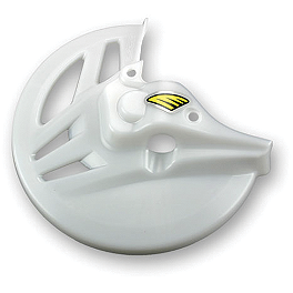 Cycra Front Disc Cover - Works Clear - Cycra Front Disc Cover - White