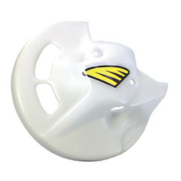 Cycra Front Disc Cover - White - Cycra Front Disc Cover - Black