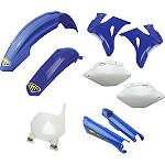 Cycra Plastic Kit - OEM Yamaha - REAR--FEATURED Dirt Bike Dirt Bike Parts