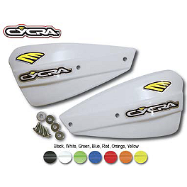 Cycra Pro Bend Low Profile Replacement Shields - Cycra Powerflow Rear Fender - Black