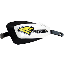 Cycra Series One Probend Kit - Cycra Powerflow Rear Fender - White