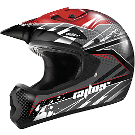 Cyber UX-22 Graphic Helmet - GMAX GM46X Helmet - Shredder