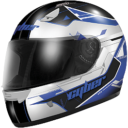 Cyber US-39 Helmet - Graphic - M2R TT Helmet - Competition