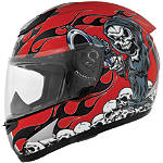Cyber US-39 Helmet - Reaper Gun - Full Face Dirt Bike Helmets