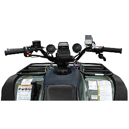 "Cycle Sounds ATV/UTV Audio 2.5"" Sound System - 2008 Honda RANCHER 420 4X4 Submarine Snorkel Intake Kit"
