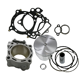 Cylinder Works Big Bore Kit - 474Cc - Yoshimura RS-5 Comp Series Slip-On Exhaust