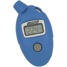 CruzTOOLS Pro Digital Air Pressure Tire Gauge - Slime 5-99 PSI Digital Tire Pressure Gauge