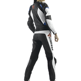 Dainese Women's Avro Two-Piece Leather Suit - Alpinestars Women's Stella Anouke Leather One-Piece Suit
