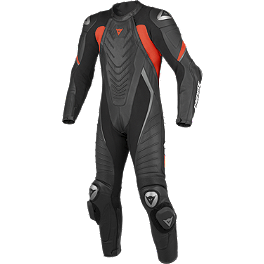 Dainese Aero Evo Perforated Leather One-Piece Suit - Dainese Team Estiva Perforated Leather One-Piece Suit