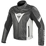 Dainese Airfast Perforated Leather Jacket - Dainese Perforated Leather Motorcycle Riding Jackets
